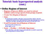 tutorial basic hyperspectral analysis cont5