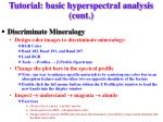 tutorial basic hyperspectral analysis cont7