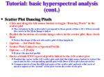 tutorial basic hyperspectral analysis cont9
