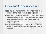 africa and globalization 2