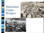 deportation camps refugees