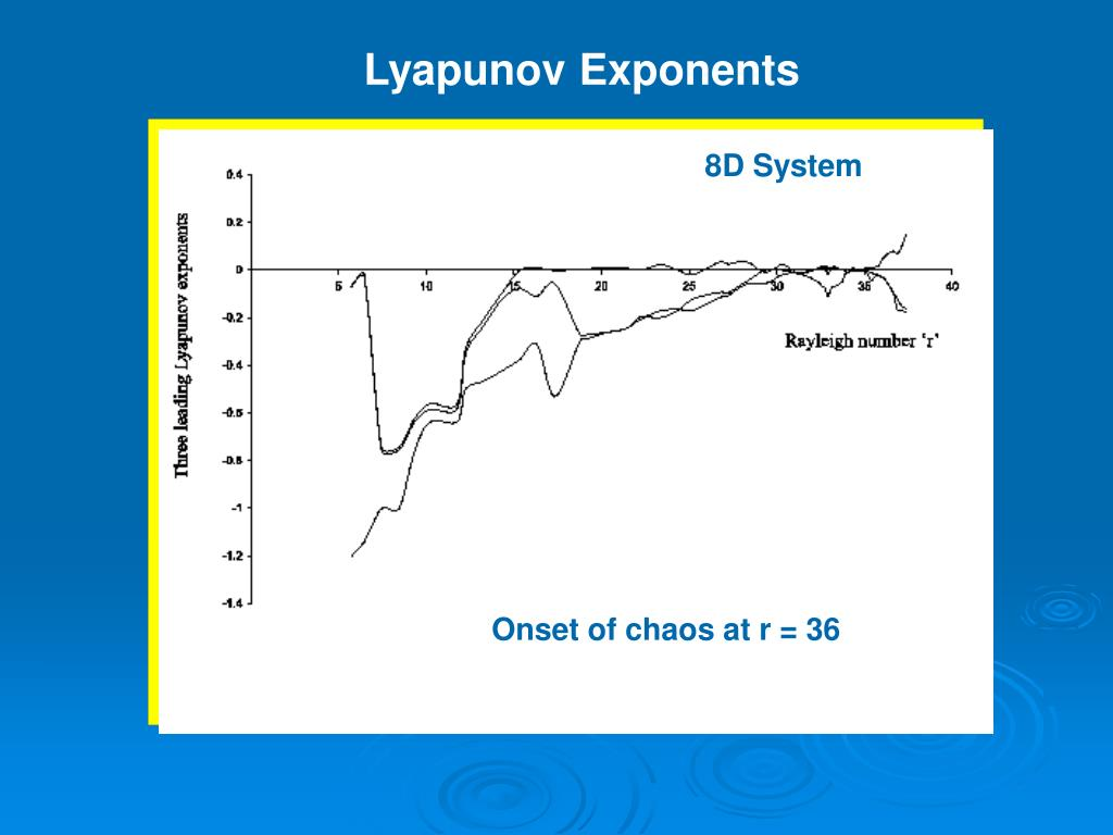 PPT - High Dimensional Chaos PowerPoint Presentation - ID