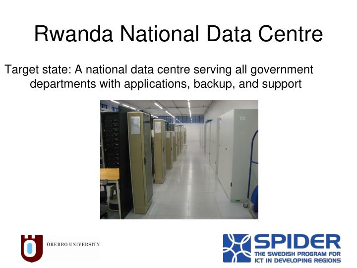 Rwanda national data centre