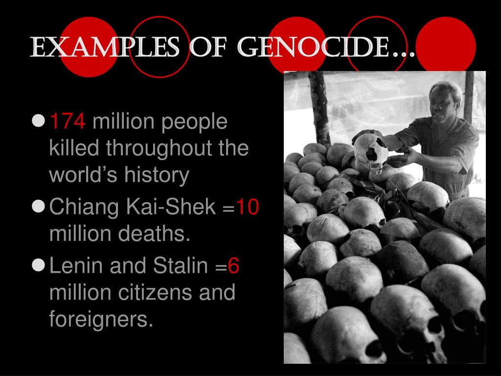 Examples of Genocide