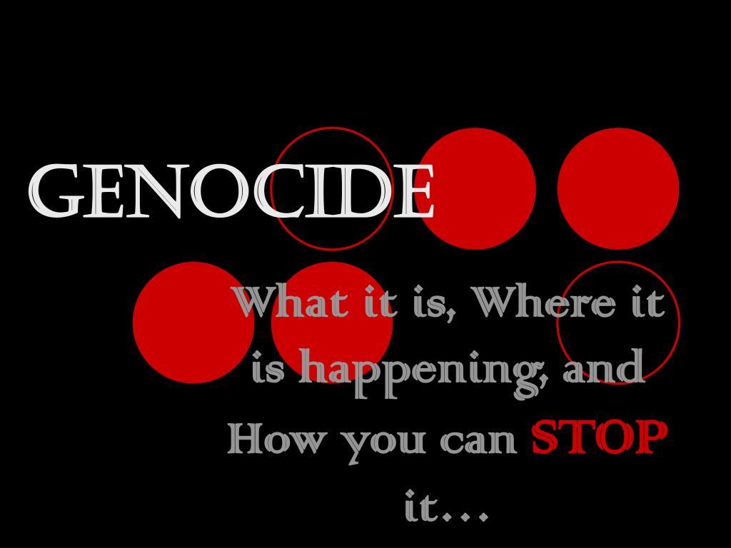 genocide l.