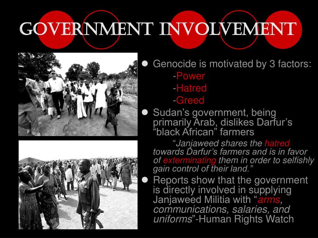 Government Involvement