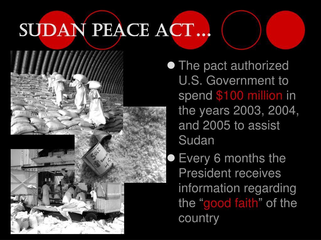 Sudan Peace Act