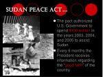 sudan peace act29