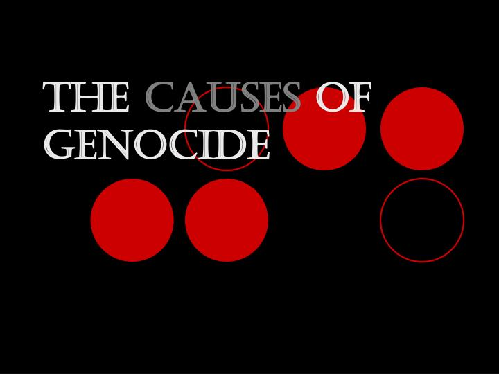 The causes of genocide