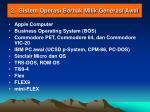 2 sistem operasi berhak milik generasi awal
