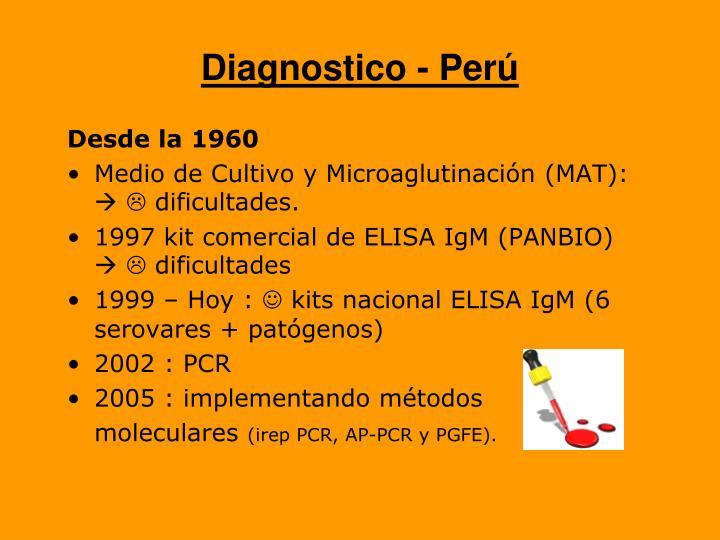 Diagnostico - Perú