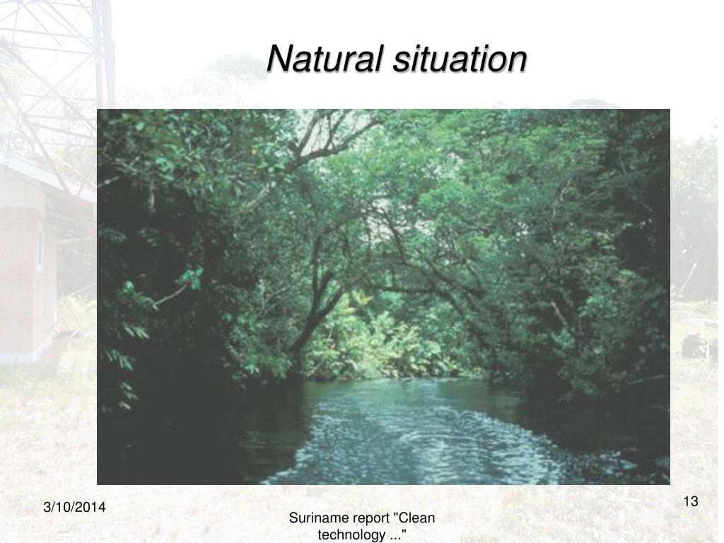 Natural situation