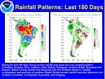 rainfall patterns last 180 days
