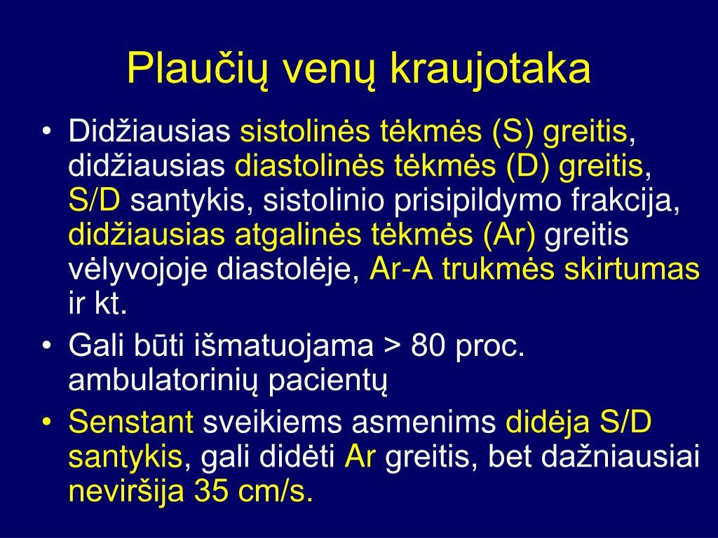 hipertenzija 2 laipsnių a1 laipsnio rizika