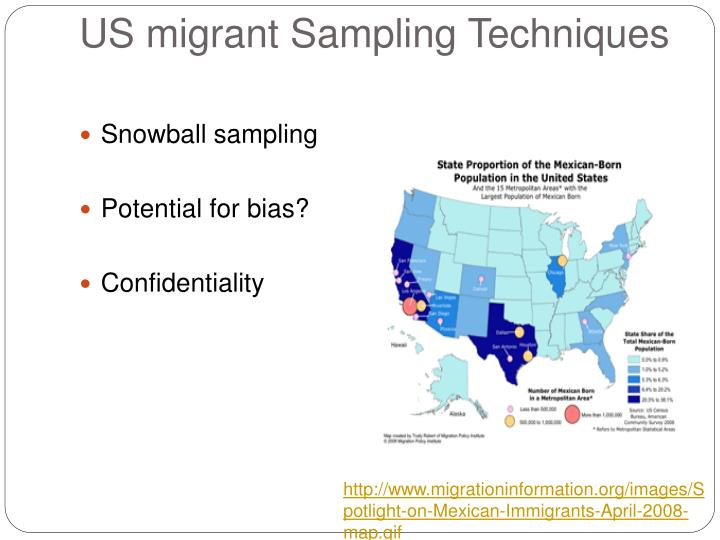 mexican migration project Sociodemorgaphic study of mexican migration to the us provides data sets with detailes migration, labor, family, socioeconomic, and demographic information of.
