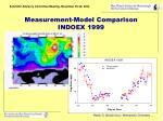measurement model comparison indoex 1999