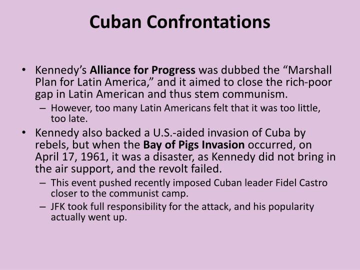 Cuban Confrontations