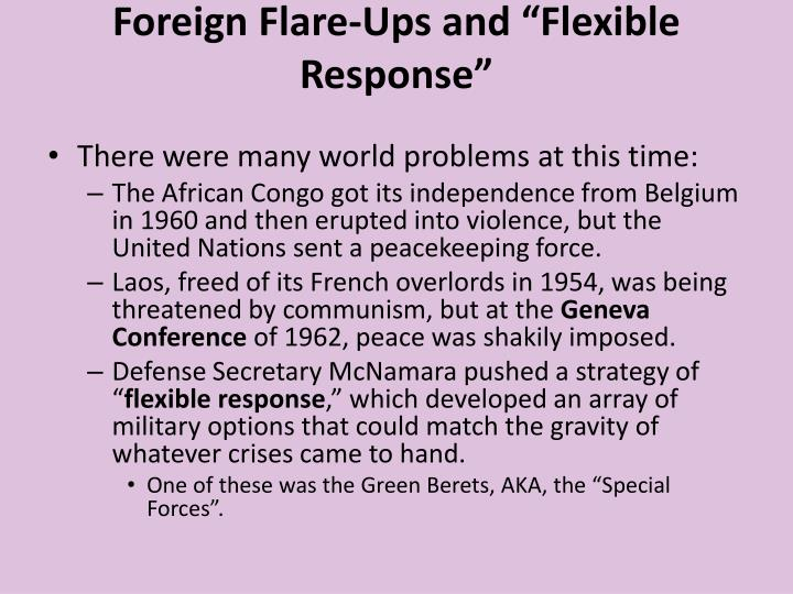 """Foreign Flare-Ups and """"Flexible Response"""""""