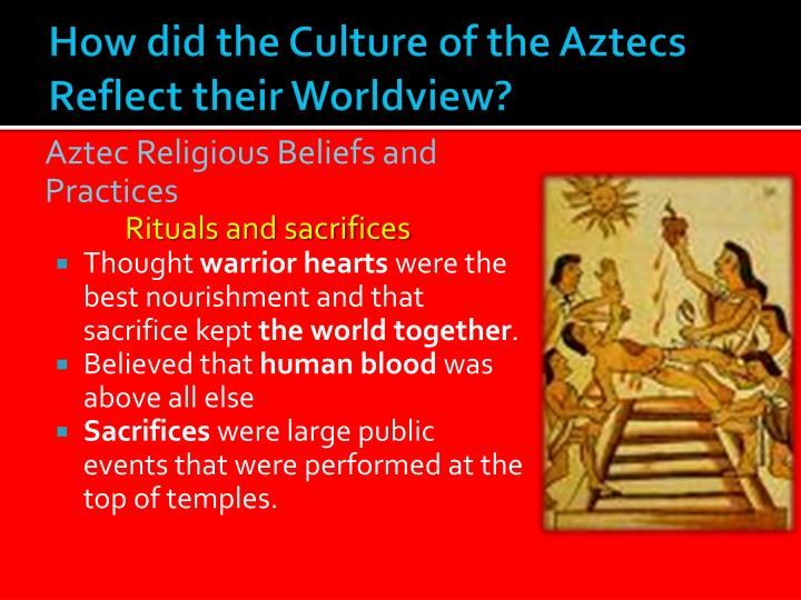 the aztec culture The aztec culture existed on the plains of mexico from the 11th century until the beginning of the 16th century the aztec language, called nahua, is still spoken by more than 1 million mexicans today.