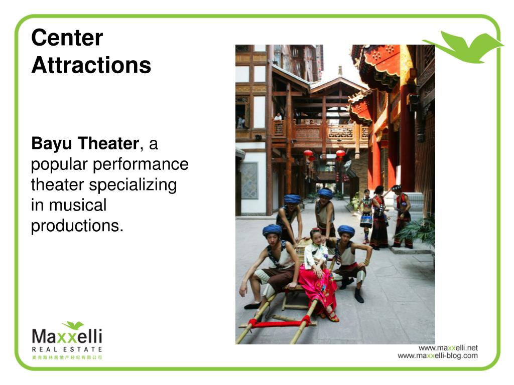 Center Attractions