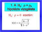 1 a h 0 r r 0 hipot zis vizsg lata