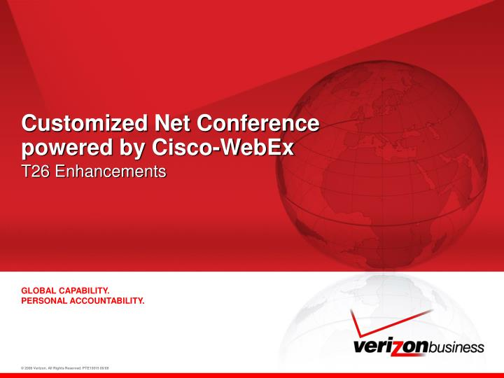 customized net conference powered by cisco webex