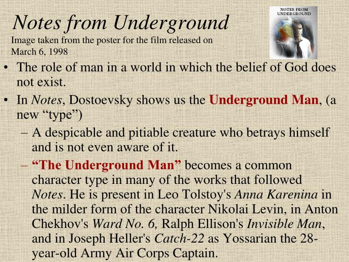 Notes from Underground