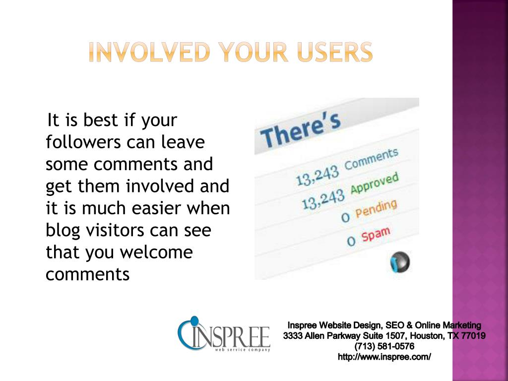 involved your users