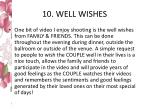 10 well wishes