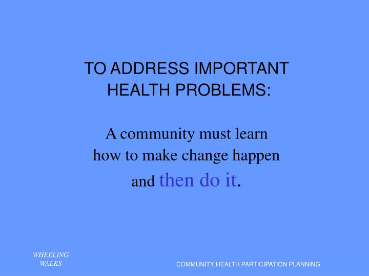 community health problems Whereas 74% of private health insurance spending is attributed to 45% of those with chronic health conditions, 72% of all healthcare spending for the uninsured is attributed to 31% of patients.