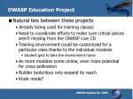 owasp education project