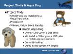 project tindy aqua dog