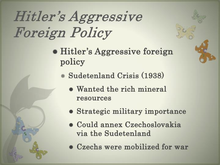 how far was hitler's foreign policy Hitler's foreign policy 1933-1938 we use your linkedin profile and activity data to personalize ads and to show you more relevant ads.