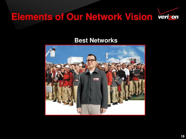 Elements of Our Network Vision