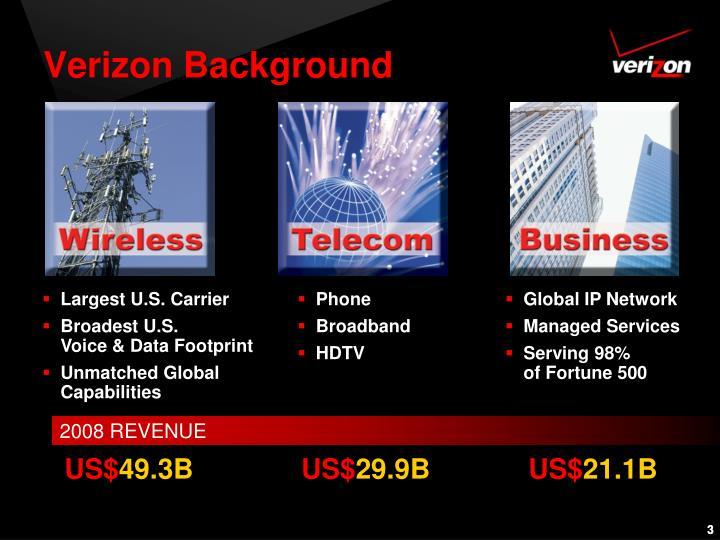 Verizon background