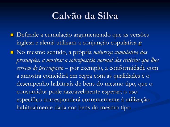 Calvão da Silva