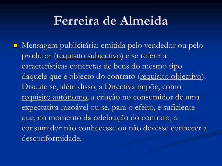 Ferreira de Almeida