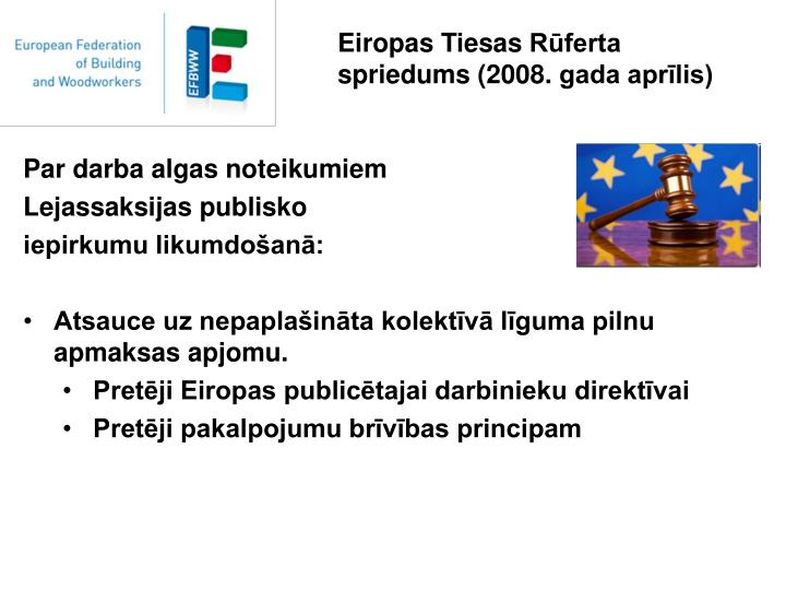 Eiropas Tiesas