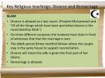 key religious teachings divorce and remarriage2