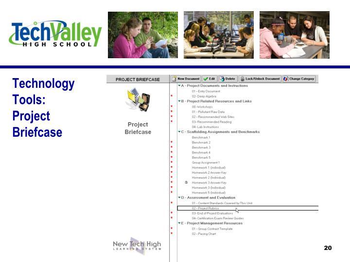 Technology Tools: