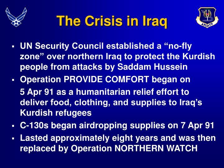 The crisis in iraq
