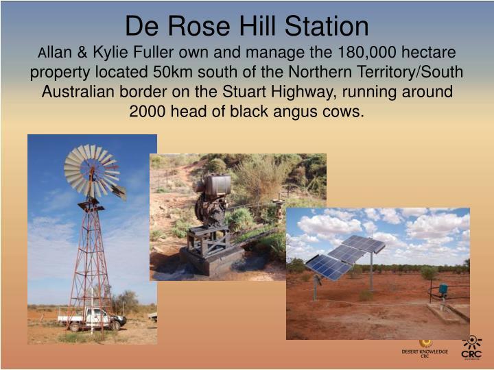 De Rose Hill Station