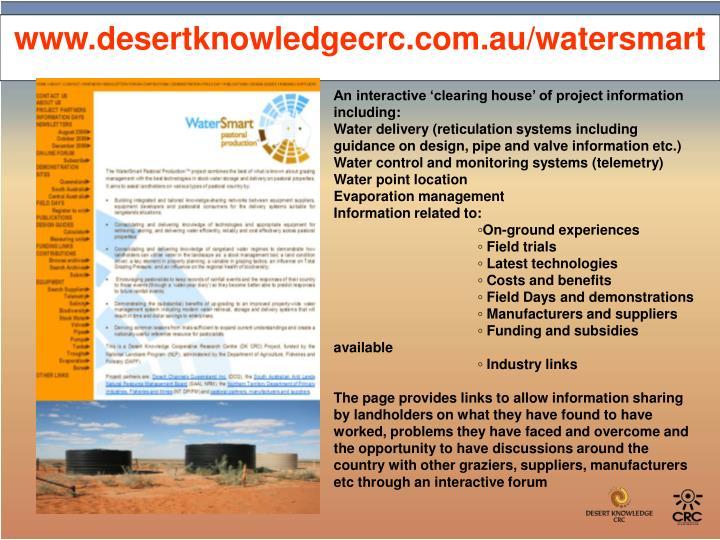 www.desertknowledgecrc.com.au/watersmart