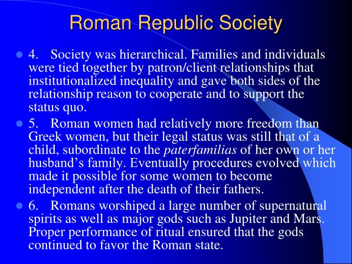 Roman Republic Society