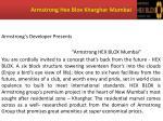 armstrong hex blox kharghar mumbai