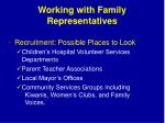 working with family representatives1