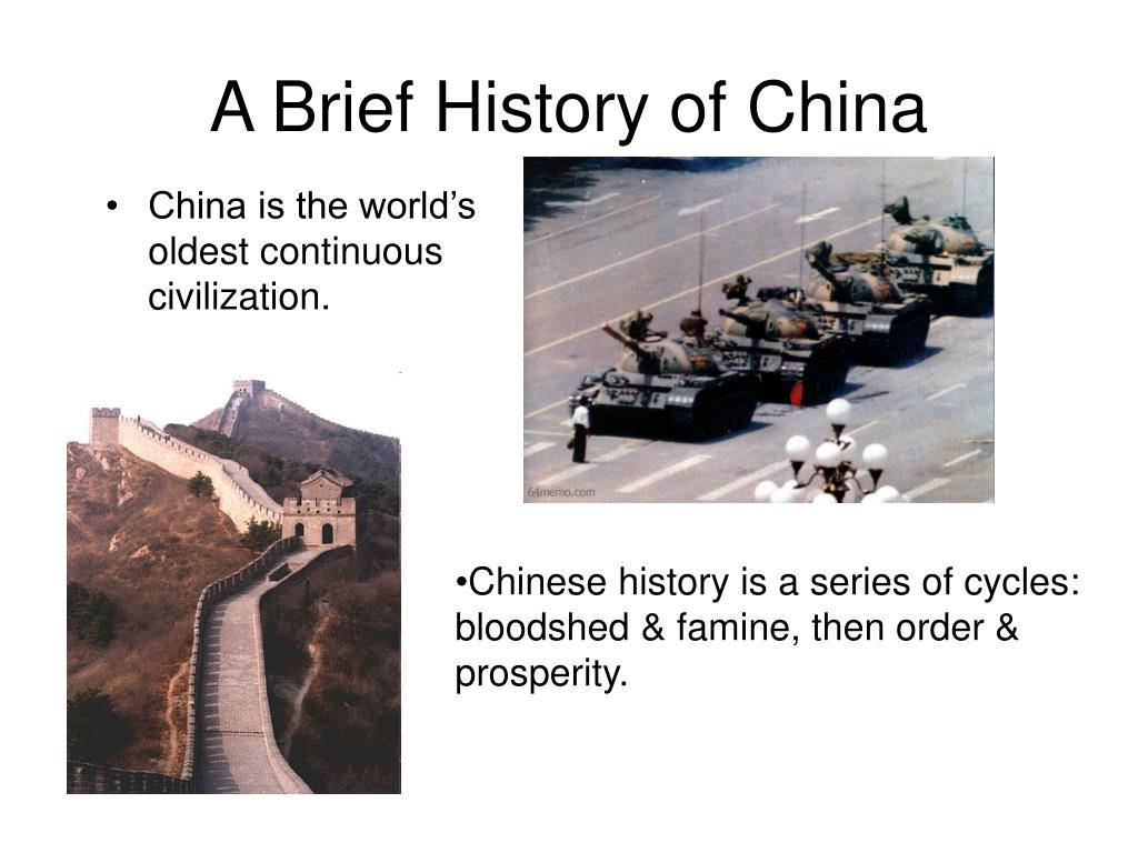 A Brief History of China - PowerPoint PPT Presentation