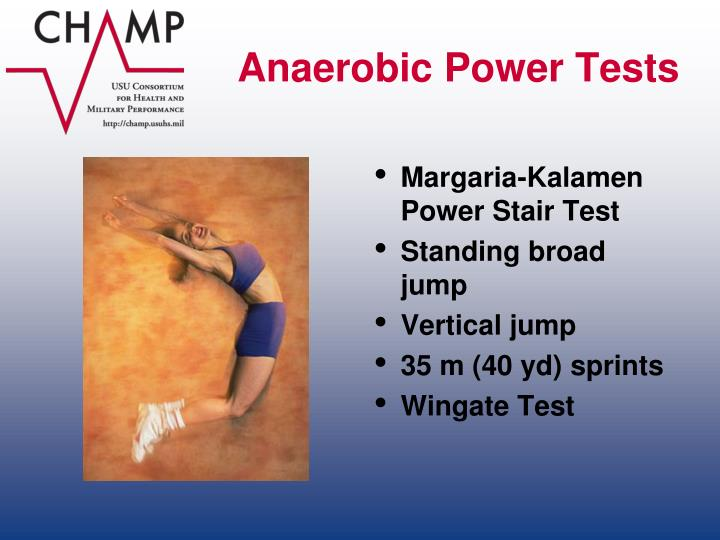Anaerobic Power Tests