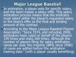 major league baseball10