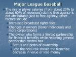 major league baseball11
